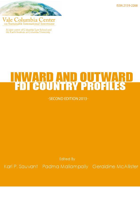 712046b05a234 PDF) Inward and Outward FDI Country Profiles Second edition August ...