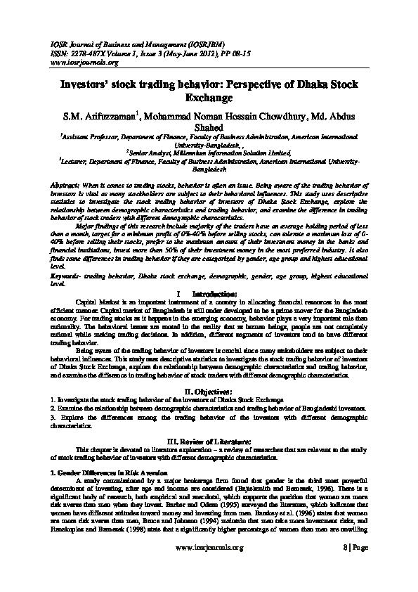 Term paper on dhaka stock exchange speech language pathologist resume example