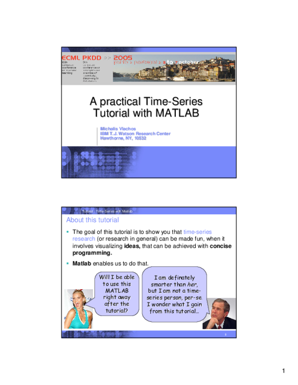 PDF) A practical Time A practical Time--Series Series