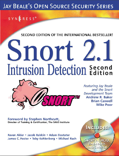 PDF) Syngress - Snort2 1Intrusion Detection Second Edition