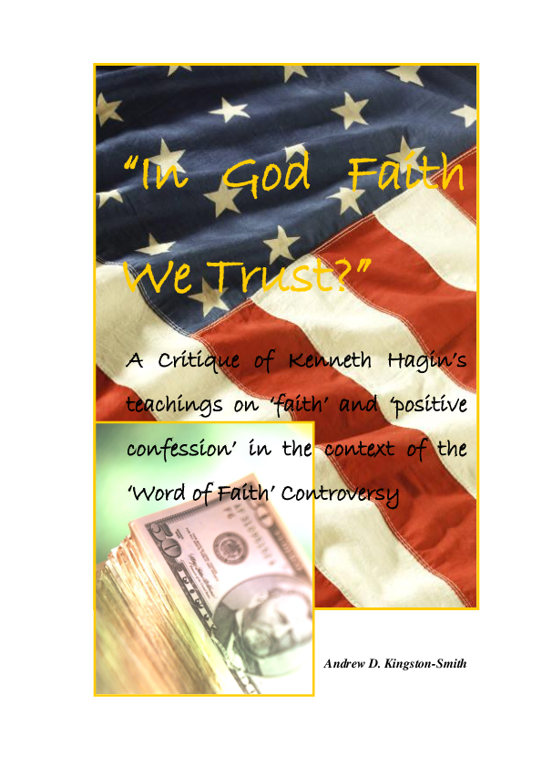PDF) In God We Trust?: A Critique of Kenneth Hagin's