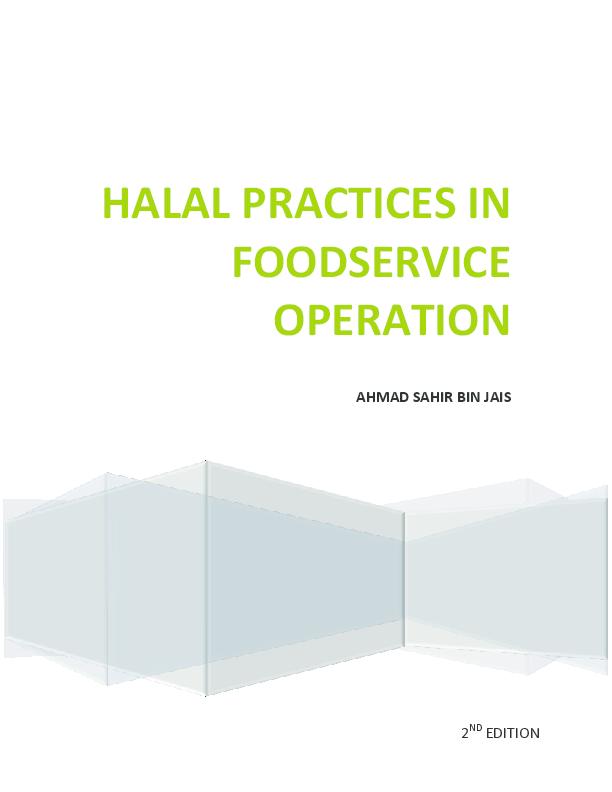 PDF) Halal compendium | ahmad sahir jais - Academia edu
