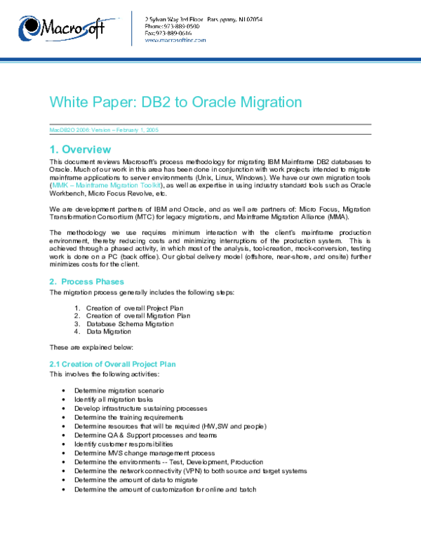 DOC) Database Migration | Muthu sankar - Academia edu