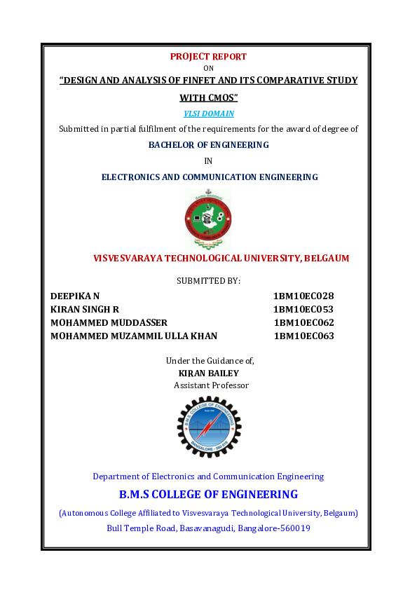 PDF) Johnson counter using Finfet | kiran singh rajput