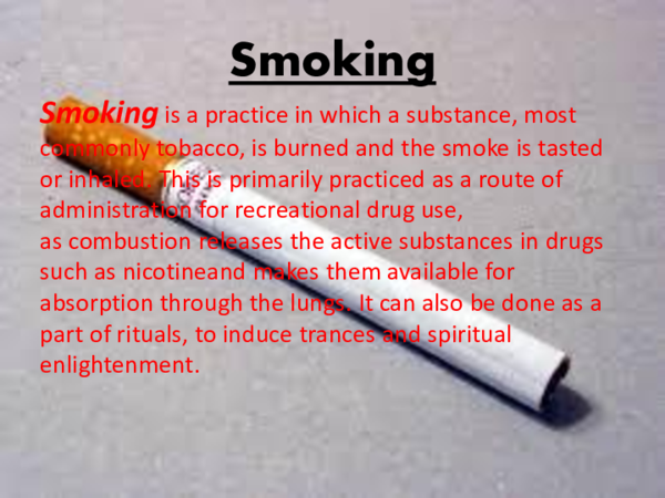 PPT) Smoking | Amr Shedid - Academia edu