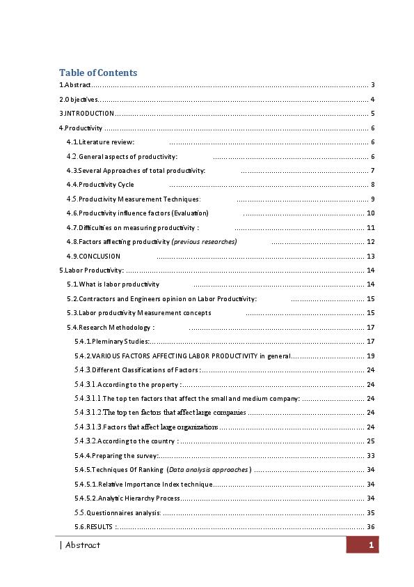 PDF) Labour productivity | Monaamee hassan - Academia edu