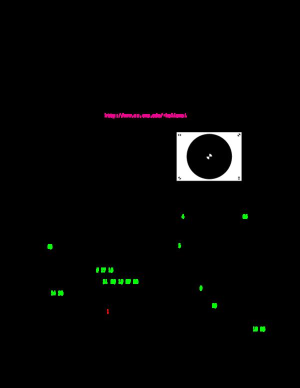 PDF) Automatic Calibration of a Range Sensor and Camera