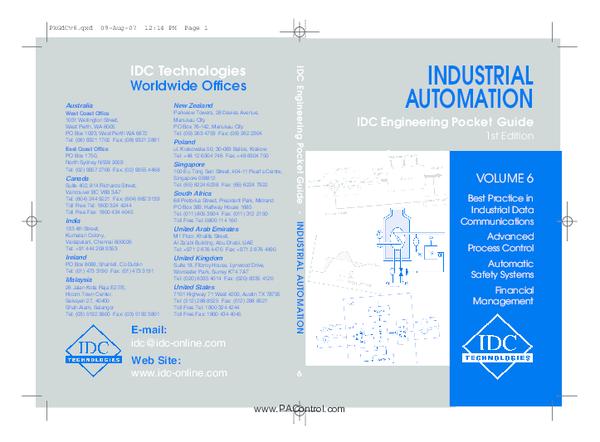 PDF) Industrial Automation Pocket Guide | Engr Rana M