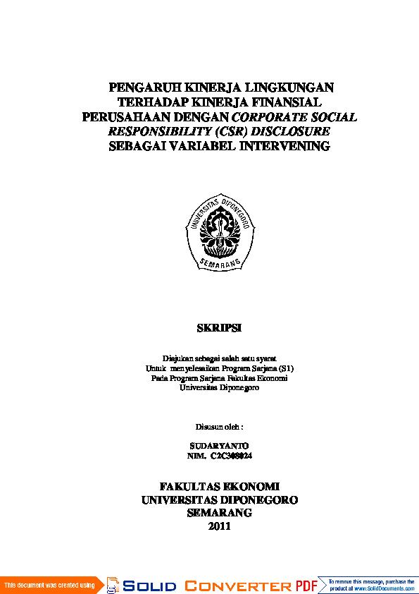Pdf Contoh Skripsi Wahyu Jatmiko Academia Edu