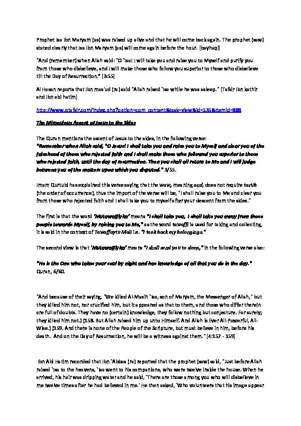 DOC) Messiah's ascension | Parvez Khan - Academia edu