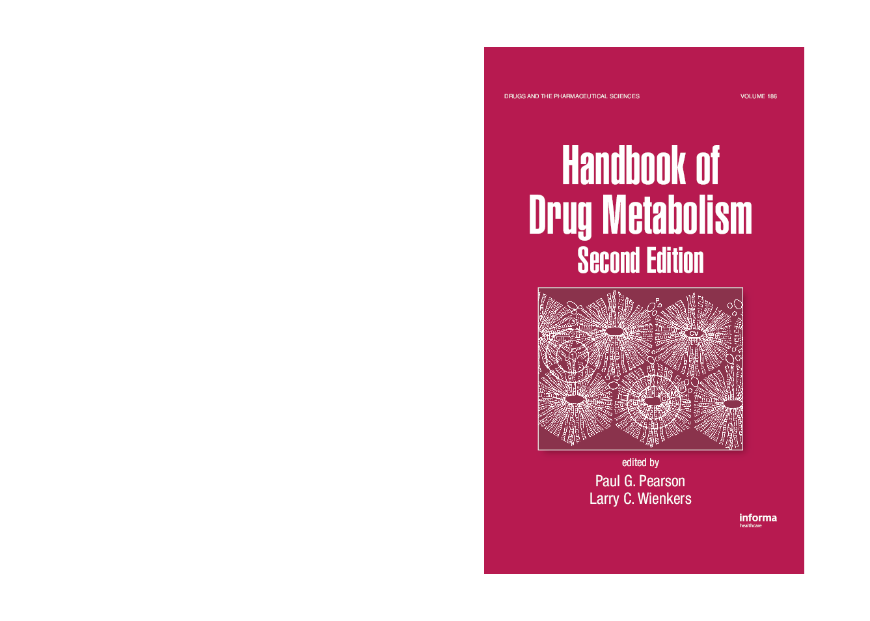 PDF) Handbook of Drug Metabolism   Patricia Kasar - Academia edu