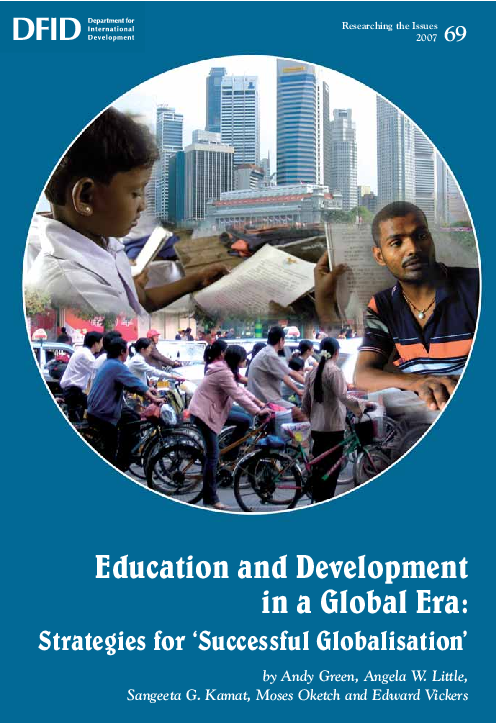 PDF) Education and Development in a Global Era: Strategies for