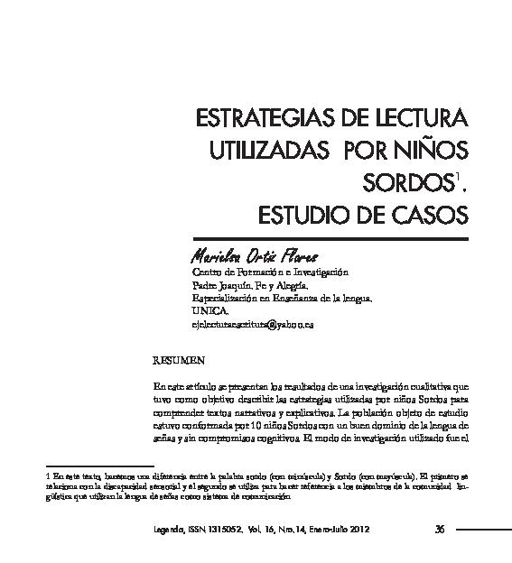 Pdf Articulo Legenda Marielsa Ortiz Academiaedu
