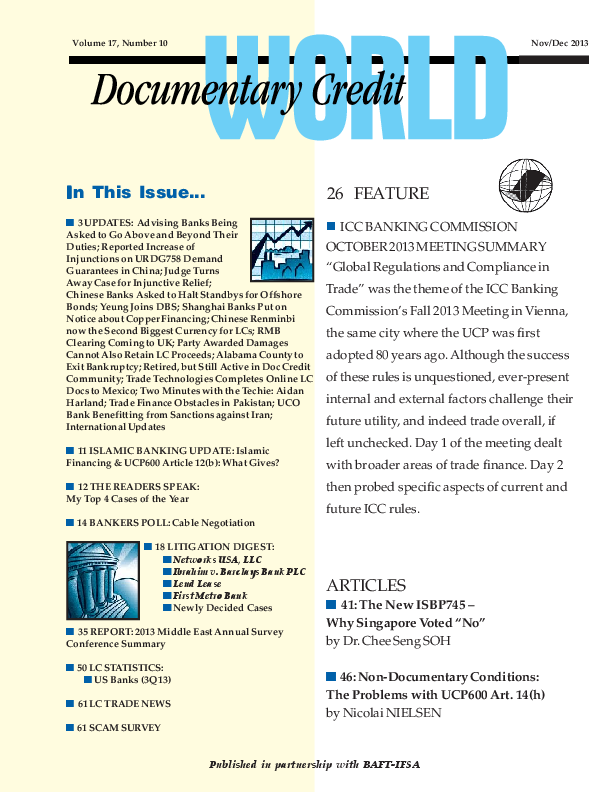 PDF) Non-documentary conditions: The problems with UCP