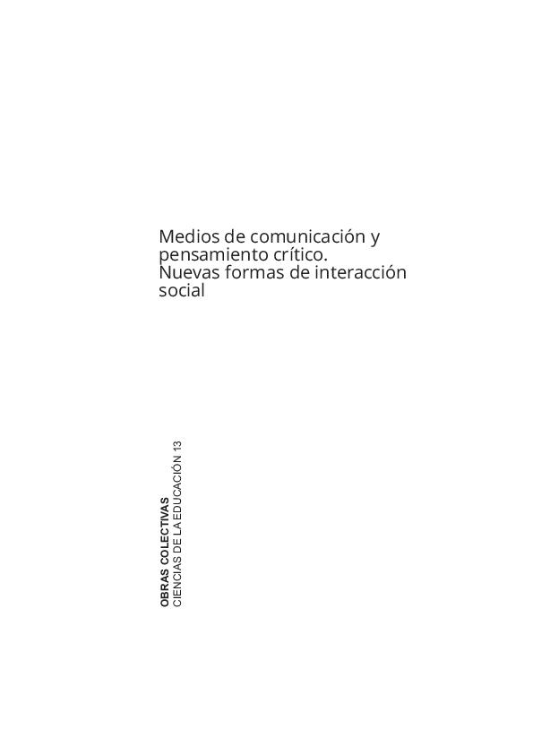 839c3ab3c2d51 Prensa digital y análisis de imágenes en Bachillerato. Hacia la ...