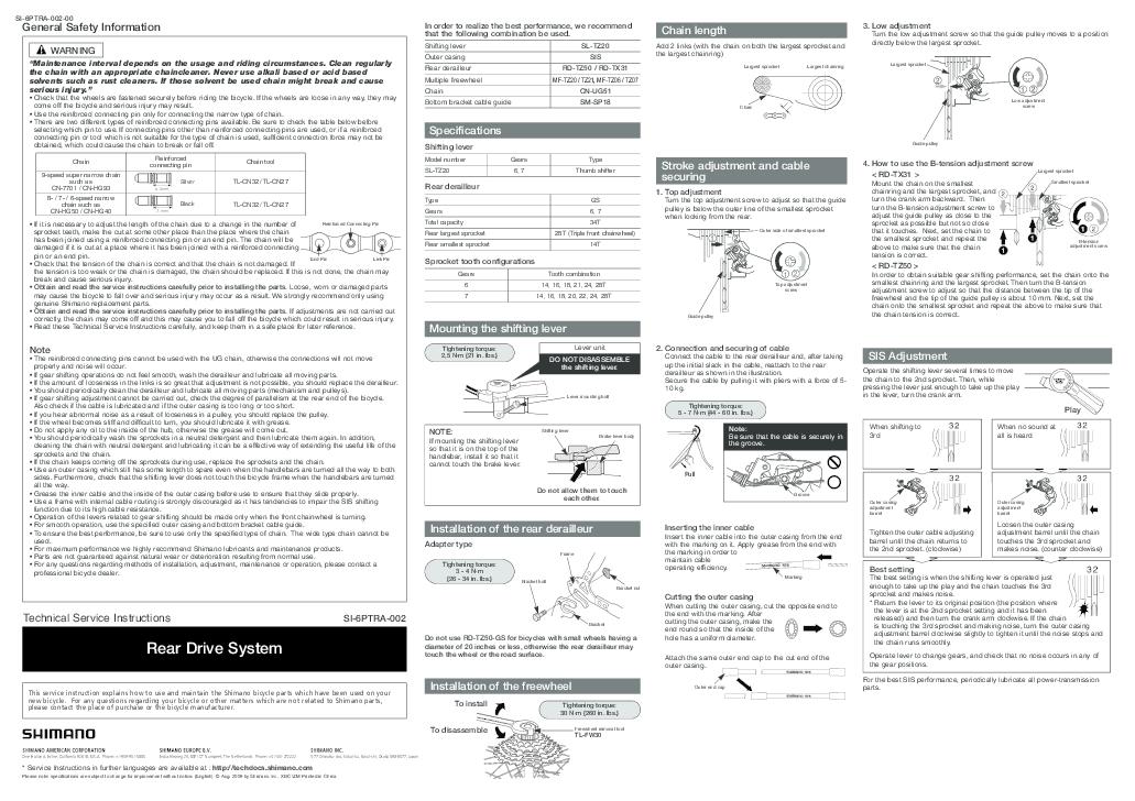 "New Shimano Rear Derailleur Fixing Bolt for Tourney /& 1//2/"" Hole Frame Mount Mech"