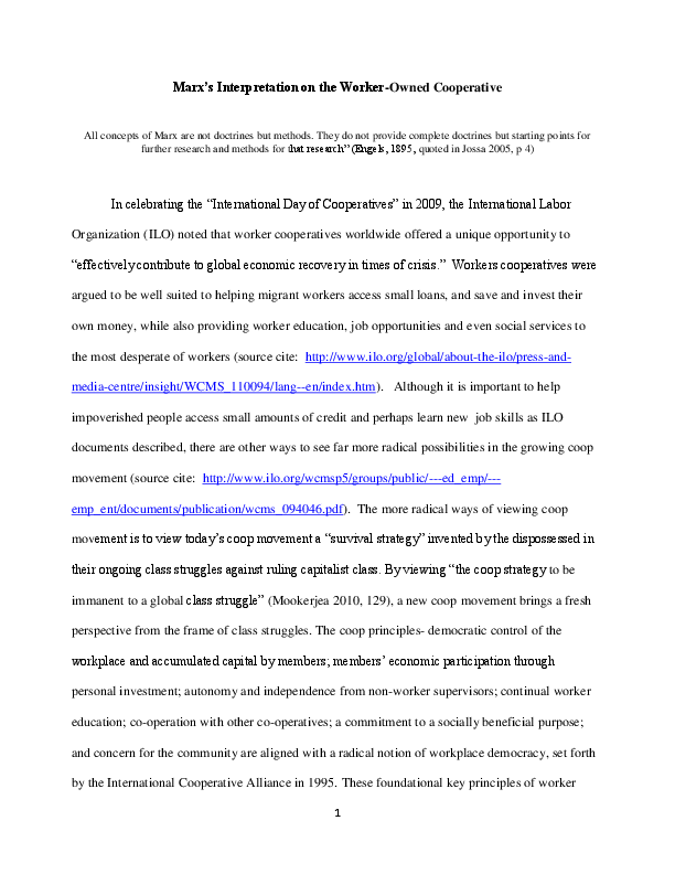 main principles of marxism pdf