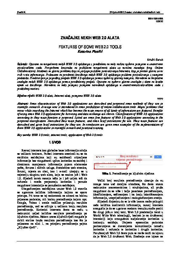 oznaka za primjere internetskih profila