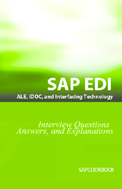 PDF) Fast Interface Between SAP And External System | Mladen