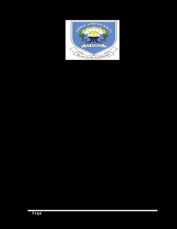 PDF) i | P a g e | Desalegn Dabaro - Academia edu