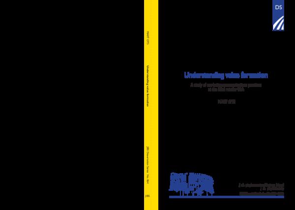 PDF) Understanding value formation   Troo Kemikali Sample