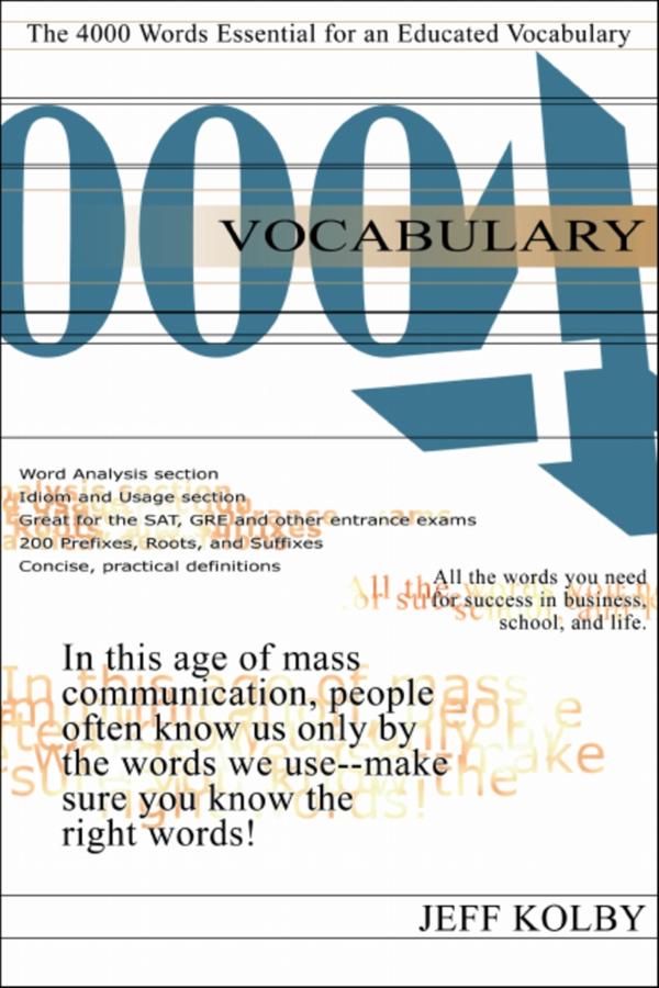 PDF) Vocabulary4000The4000Words Essentialforan Educated Vocabulary