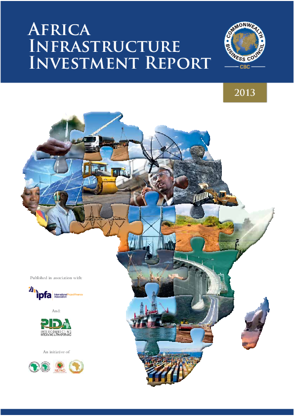 Cbc africa infrastructure investment report sample strel cs 1 6 cfg investments