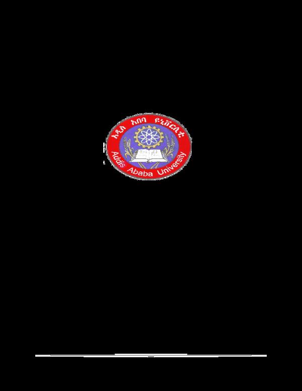 PDF) Addis Ababa University School of Graduate Studies | David