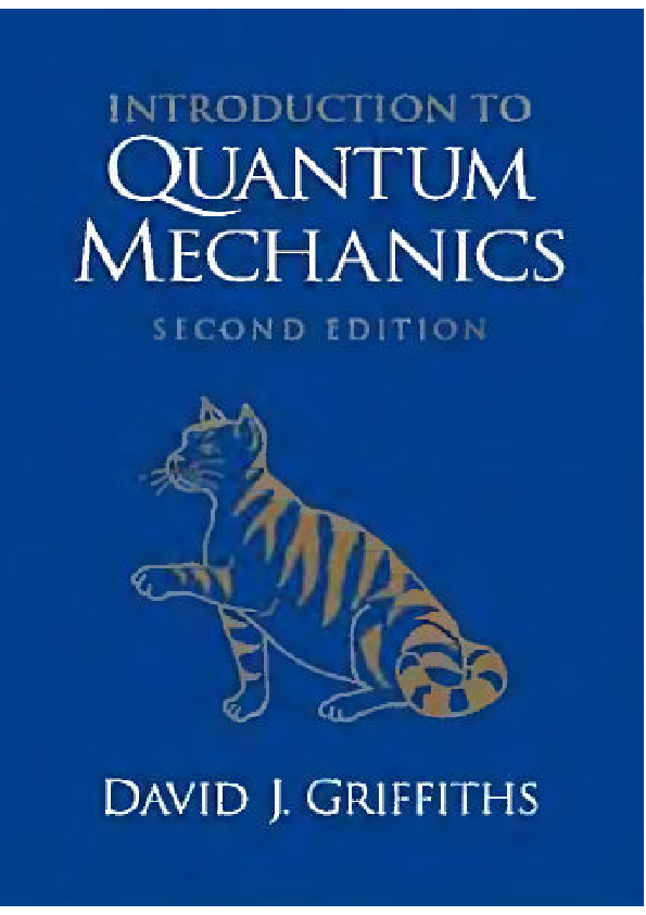 Of Quantum Mechanics By Griffith Filetype Pdf