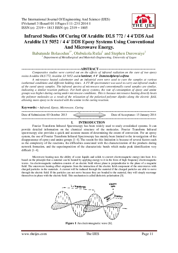 PDF) The International Journal of Engineering and Science