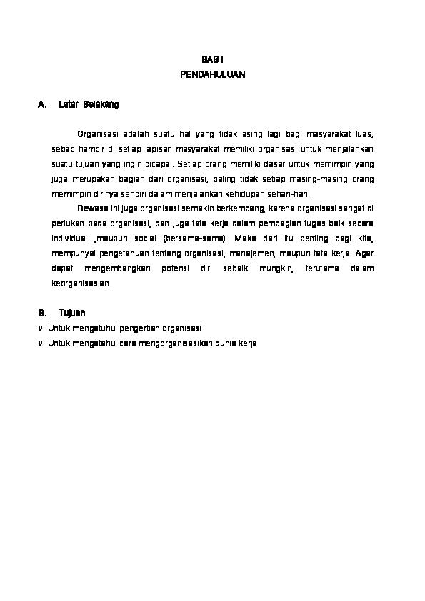 Doc Makalah Organisasi Septian Raha Academia Edu
