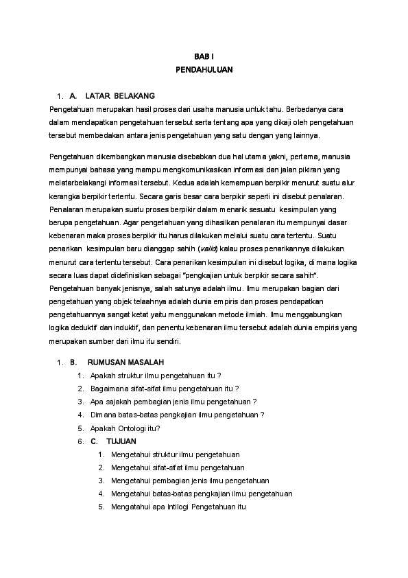 Doc Makalah Filsafat Ilmu Septian Raha Academia Edu