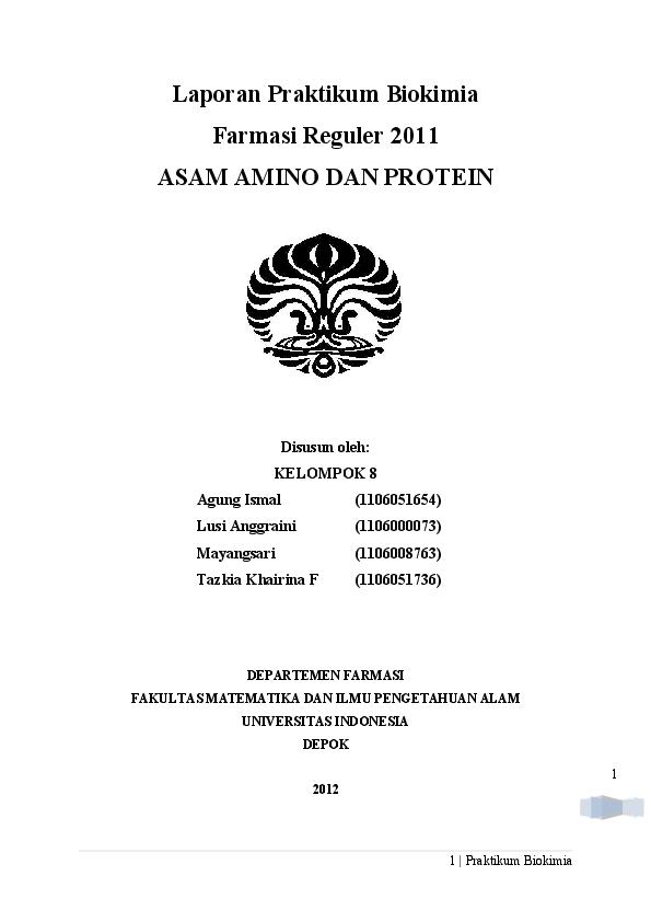 Doc Asam Amino Dan Protein Riri Nurul Academia Edu