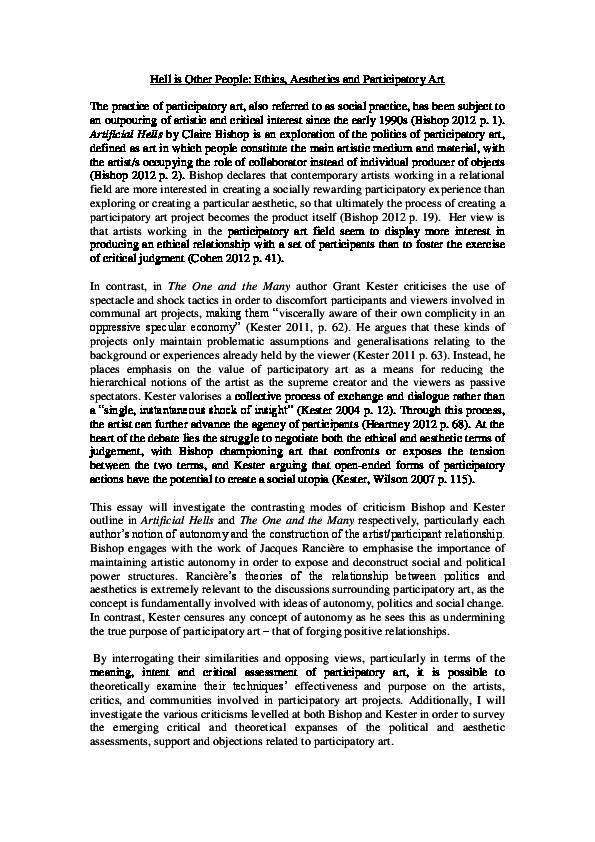 improvisation and social aesthetics improvisation community and social practice