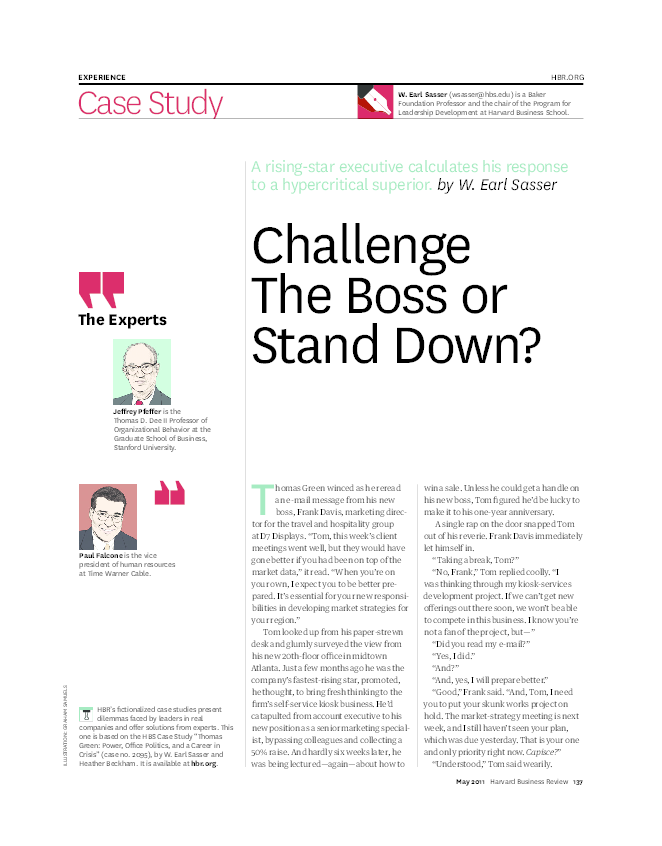 harvard business review case studies