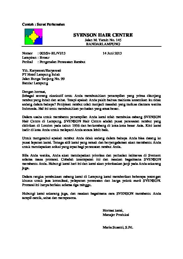 Doc Surat Niaga Ar Ryan Tiarst Academiaedu