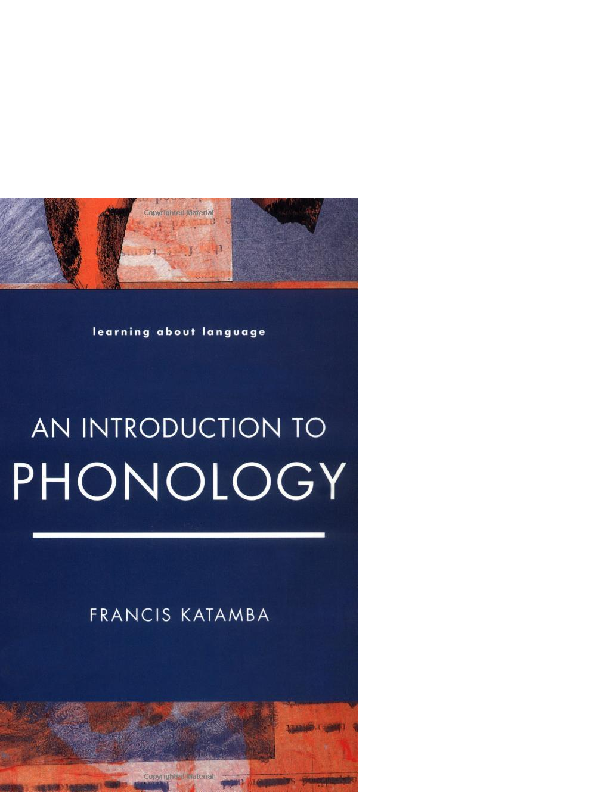 Introductory Phonology Hayes Pdf