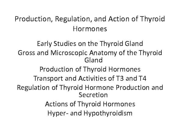 Ppt Thyroid Gland Sathwik Alladi Academia Edu