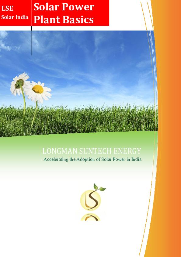 PDF) Basics of Solar Power System   Sujith Thannikkatt