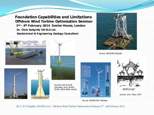 PPT) Offshore Wind Foundations - Capabilities and