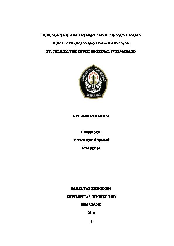 Judul Skripsi Psikologi Industri Dan Organisasi 2010 Ide Judul Skripsi Universitas