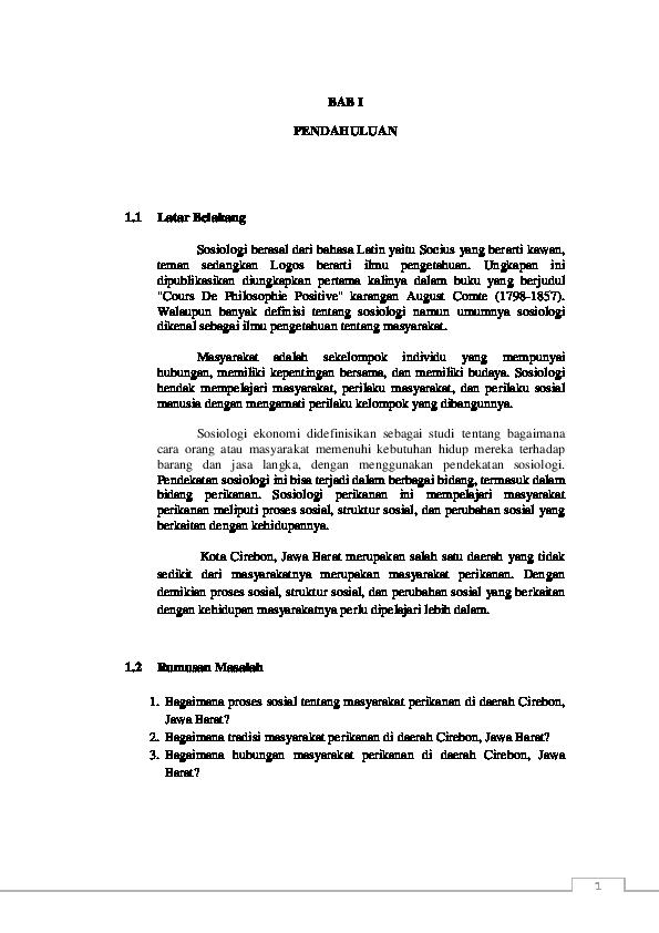 Doc Makalah Sosiologi Alma Kanita Academia Edu
