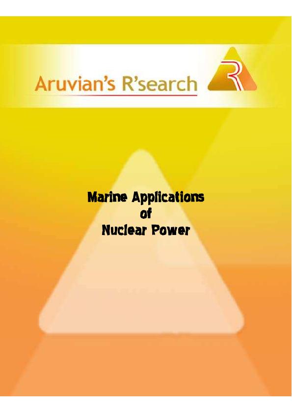 PDF) Nuclear Naval Propulsion | Leonam L S Guimaraes - Academia edu