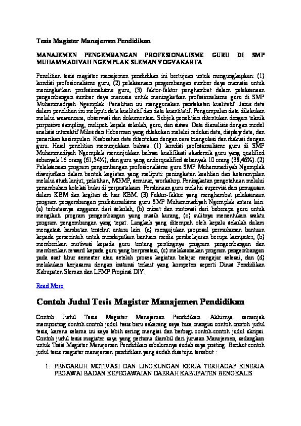 Doc Tesis Magister Manajemen Pendidikan Hendrawati Enda