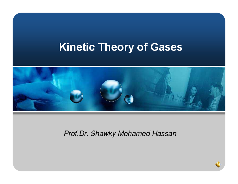 Kinetic Theory Of Gases Pdf