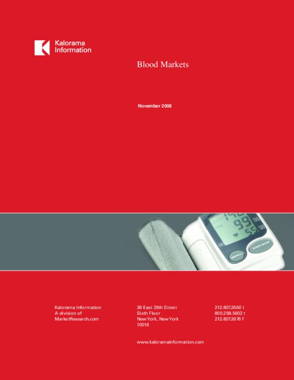 PDF) Blood Markets   Amir Pelleg - Academia edu