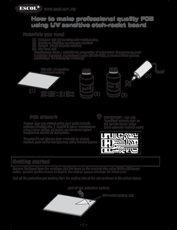 PDF) How To Make PCB | melkizedeck jacob - Academia edu