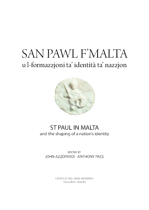 PDF) St Paul in Malta and the shaping of a nation's identity