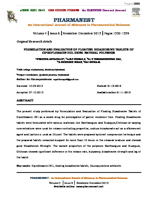 Manual kohli pdf drug formulation
