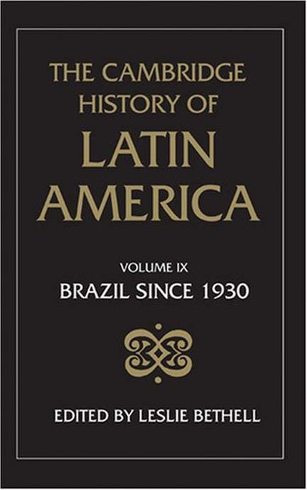 PDF) BETHELL, Leslie  History of Latin America - vol 9